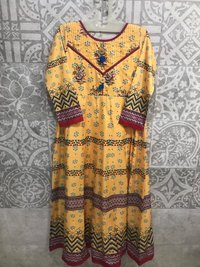 Digital Printed Kurti Fabric
