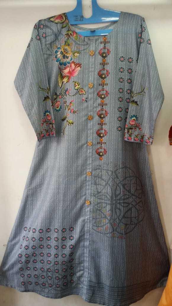 Fancy Digital Printed Kurti Fabric