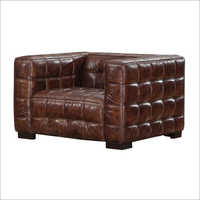 Leather Single Seater Sofa