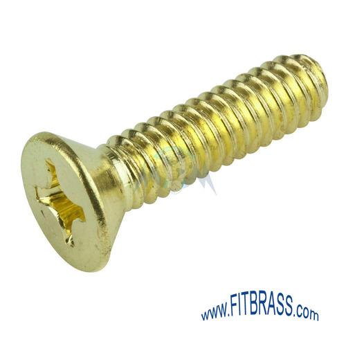 Phillips Head Brass Machine Screws