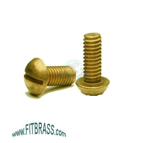 Brass Round Head Machine Screw