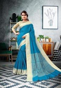 Designer Bollywood Cotton Printed Saree