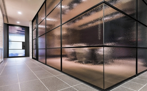 SPS 2580B Wide Glaze Aluminum Glass Office Partitions