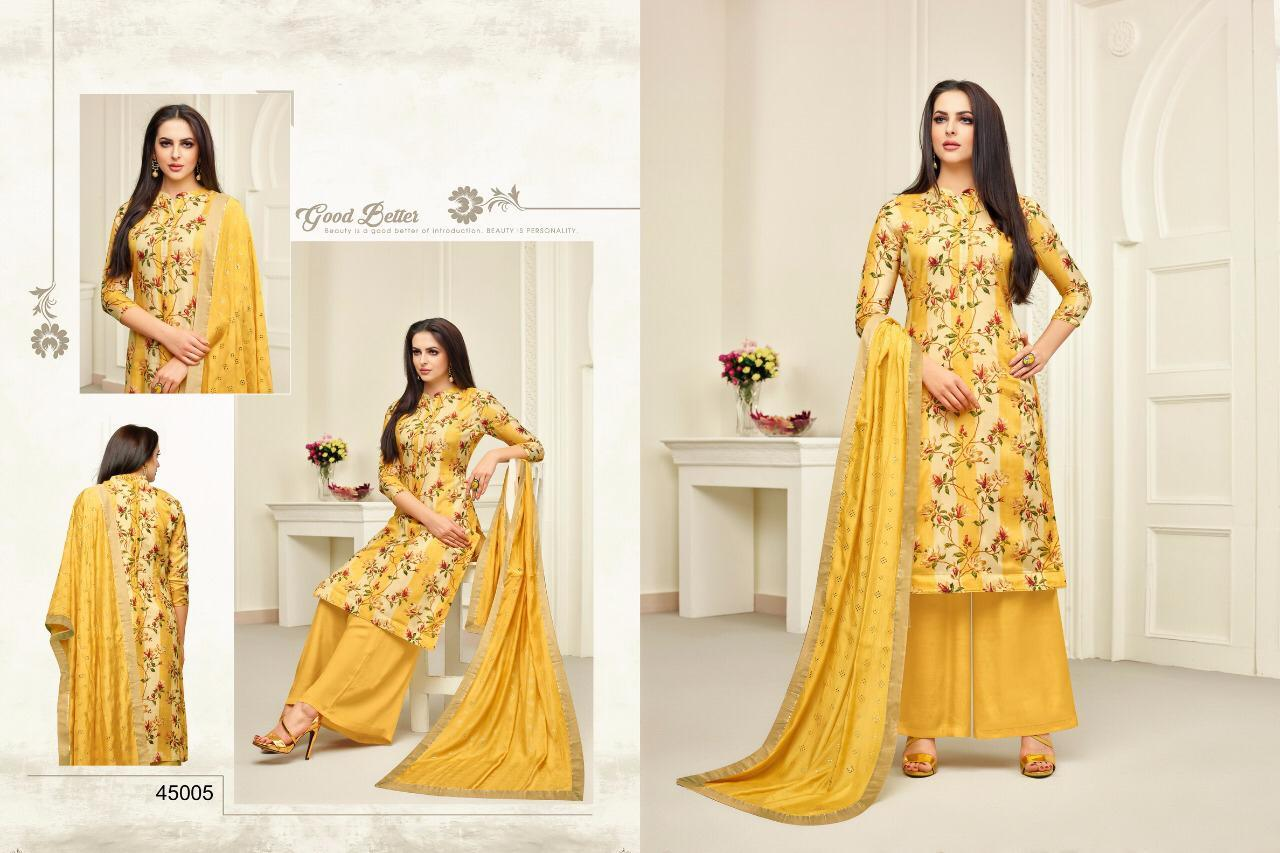 Maslin printed salwar suits