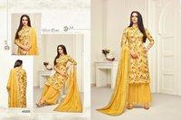Maslin printed salwar suits