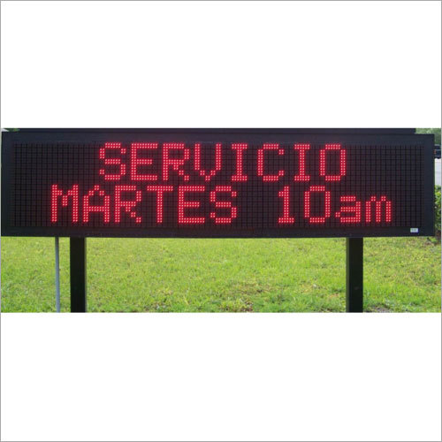 Electronic Display Sign Board