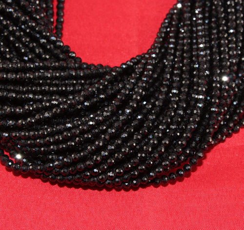 Black Spinal Micro Beads
