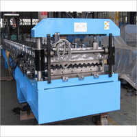 Roofing Barrel Corrugated Sheet Metal Roll Forming Machines