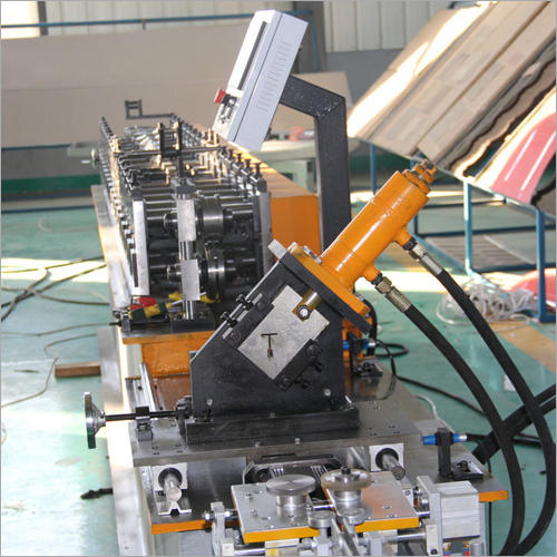 Ceiling T Grid Light Keel Roll Forming Machine