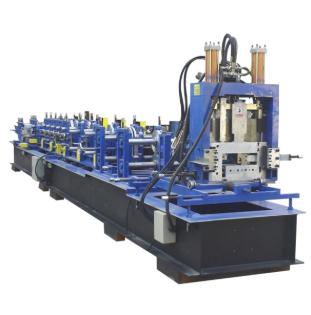 Steel C Z U Purlin Roll Forming Machine