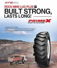 Rock Mine Leg Plus (OTR Tyre)