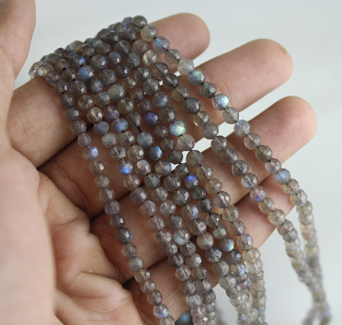 Labradorite Natural Micro Beads