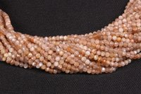 Brown Moonstone Micro Beads