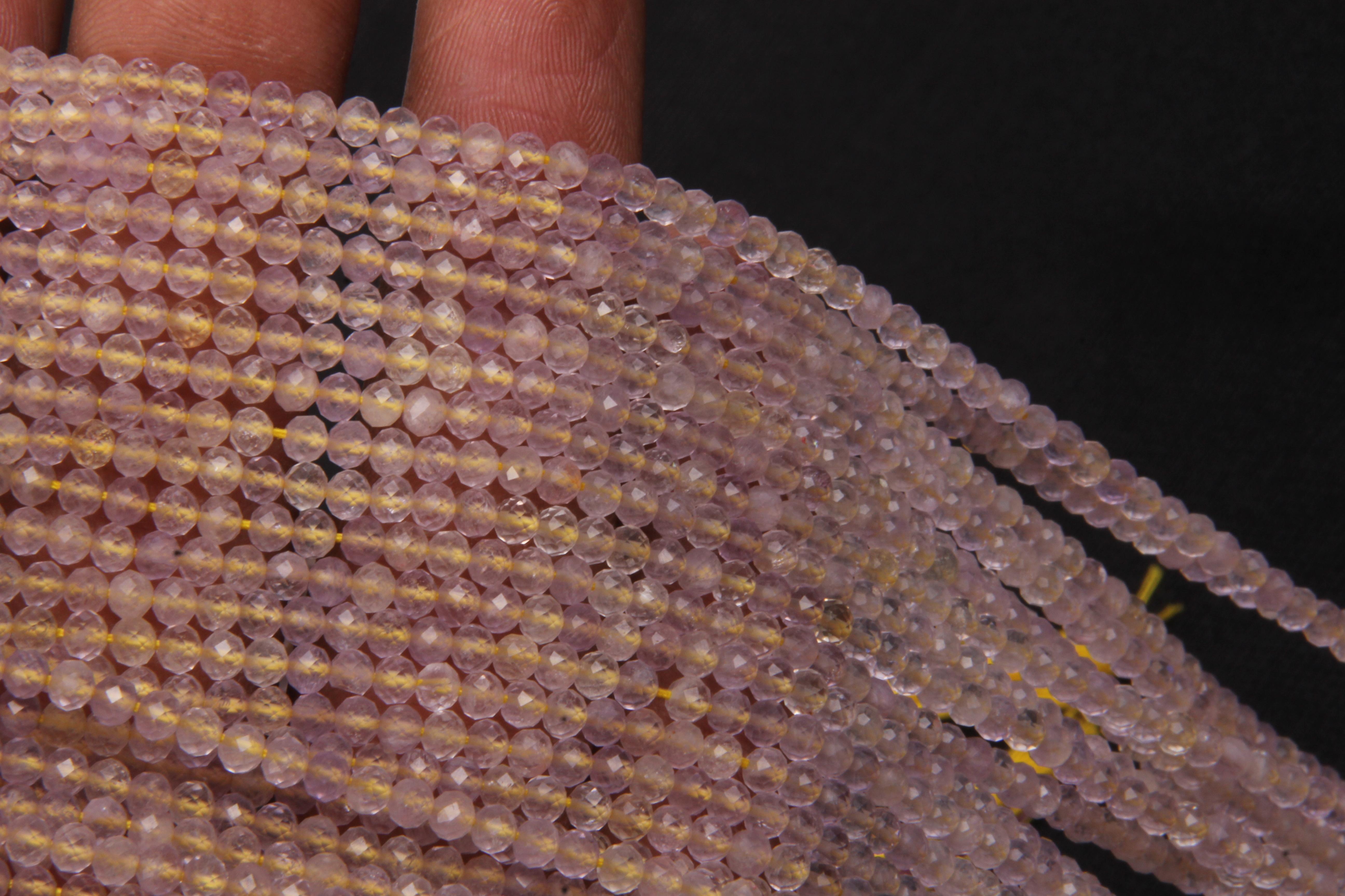 Ametrine Micro Beads