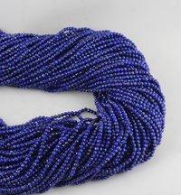 Lapis Lazuli Micro Faceted Beads