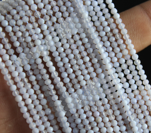 Chalcedony Micro Beads
