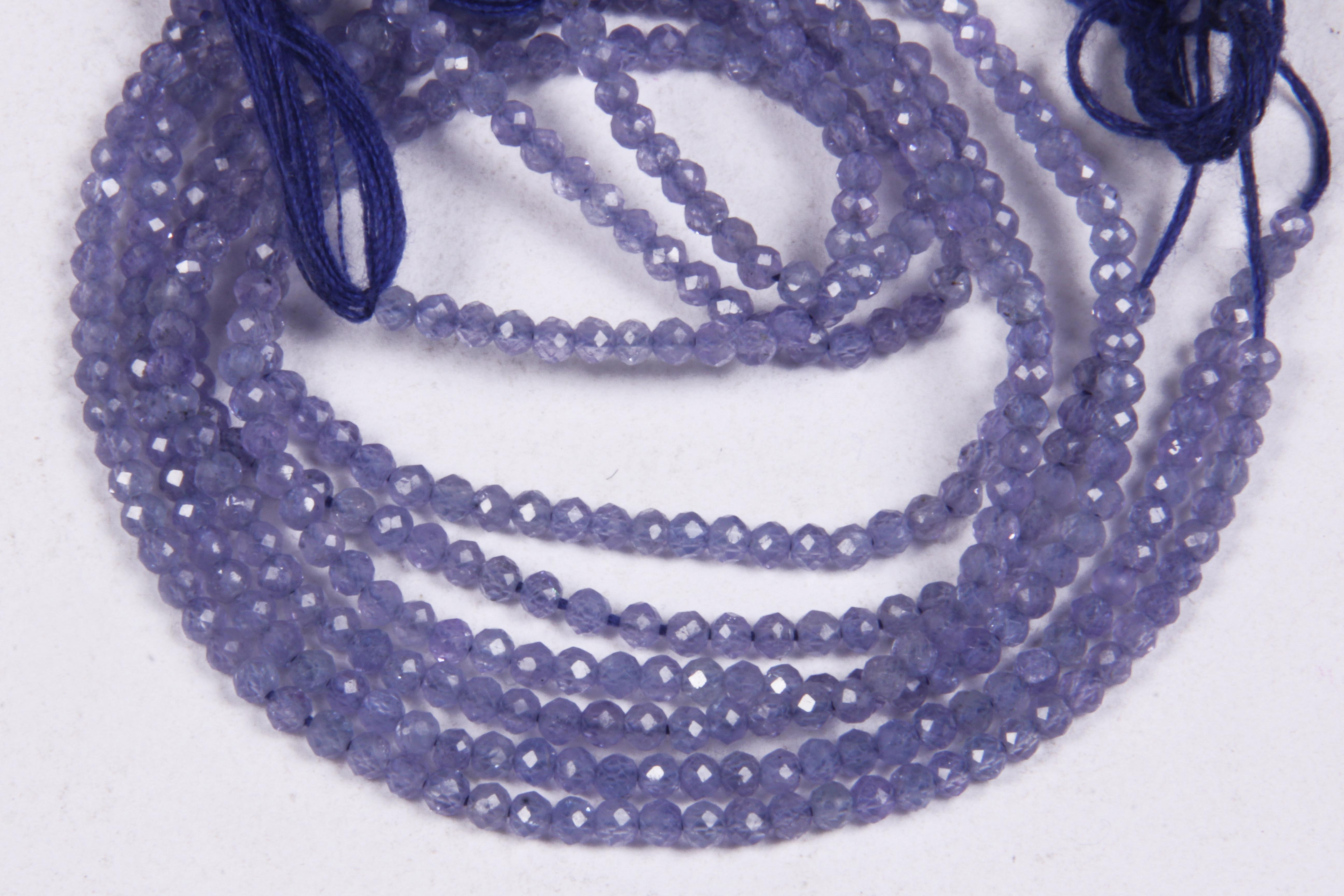 Tanzanite Micro Beads