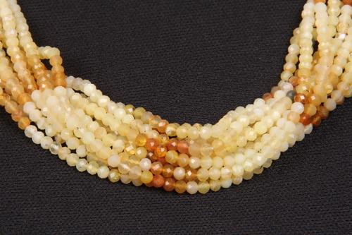 Yellow Opal Micro Beads