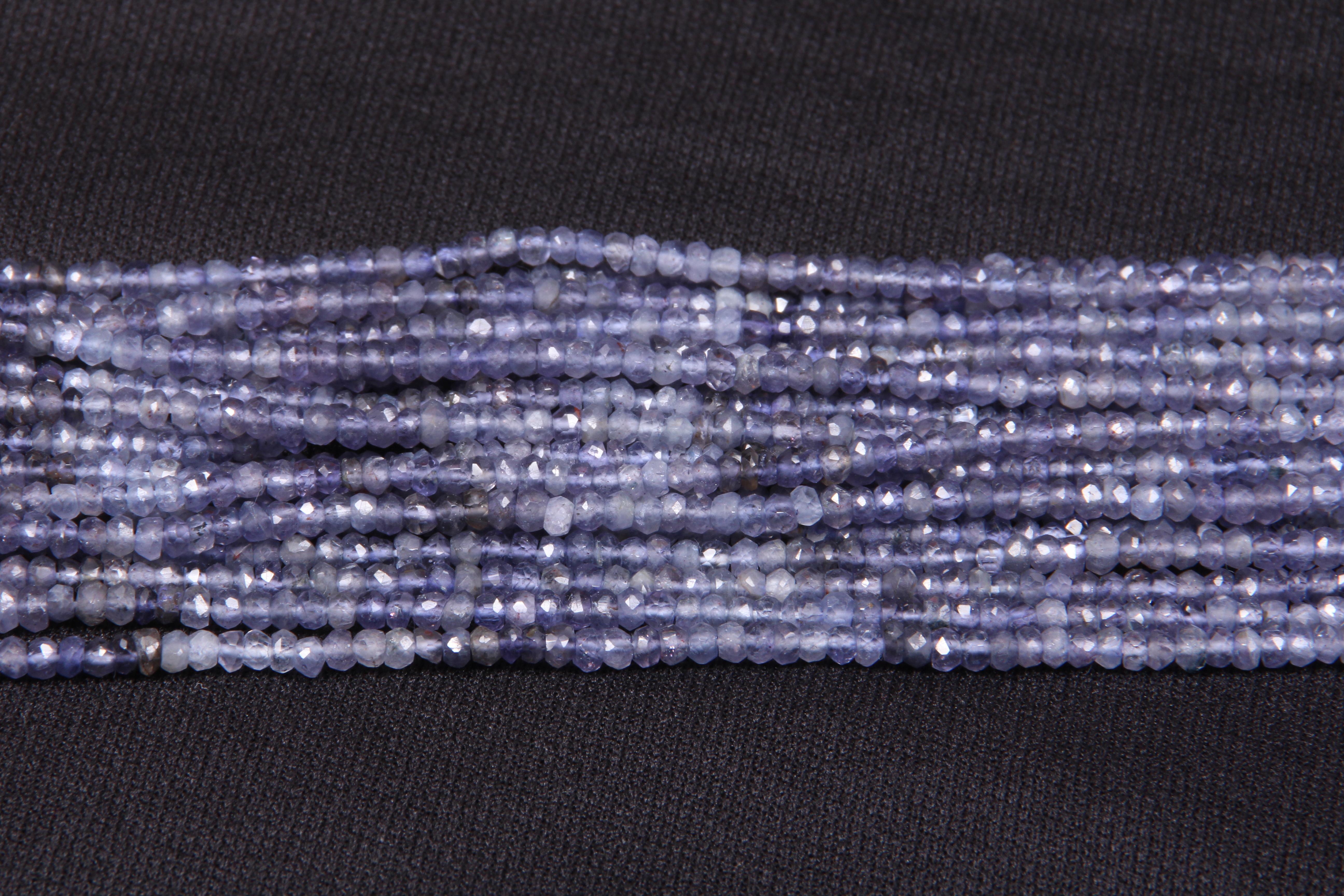 Iolite Micro Beads