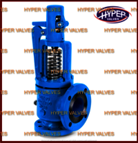Open bonnet safety relief valve