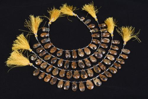 Camel Jasper Beads