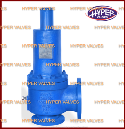 Close bonnet safety relief valve