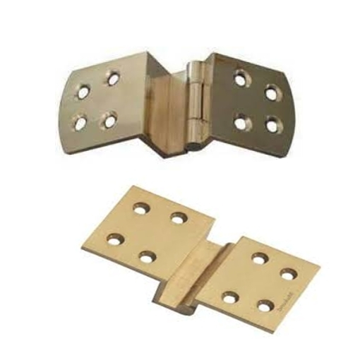 """1/2"""" Brass W Hinges"""
