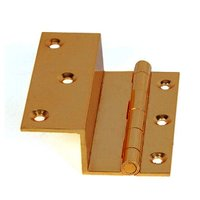 "1"" Brass L Hinges"