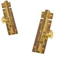 Matka Knob Brass Tower Bolt