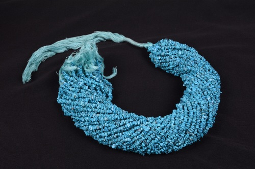 Turquoise Micro Uncut Chips Beads
