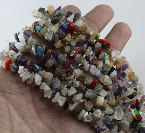 Disco Uncut Chips Beads
