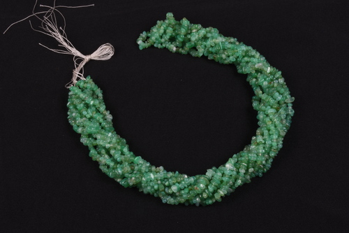 Chrysoprase Uncut Chips Beads