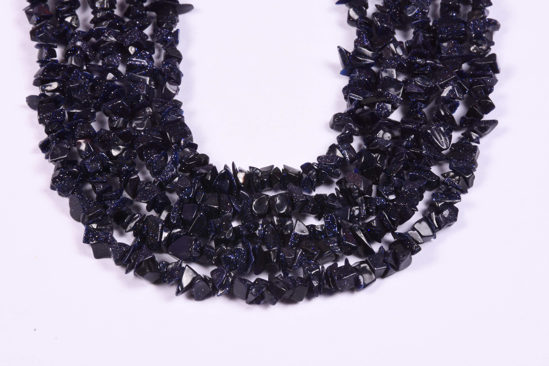 Blue Sunstone Beads