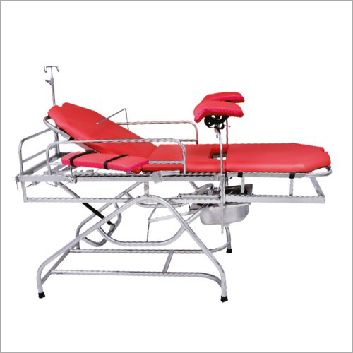SS Telescopic Labour Table