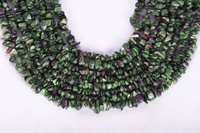 Ruby Zoisite Uncut Chips Beads