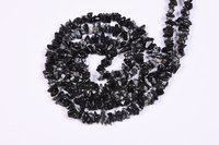 Snowflake obsidian Chips Beads
