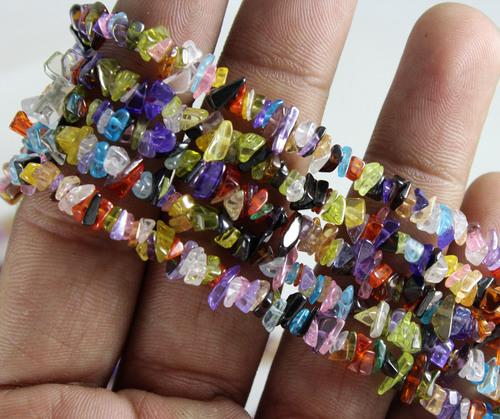 Cubic Zircon Beads