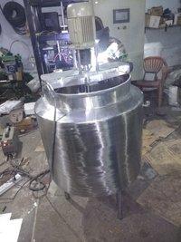 Agitator Mixer Double Jacket Tank