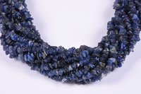 Sodalite Uncut Chips Beads