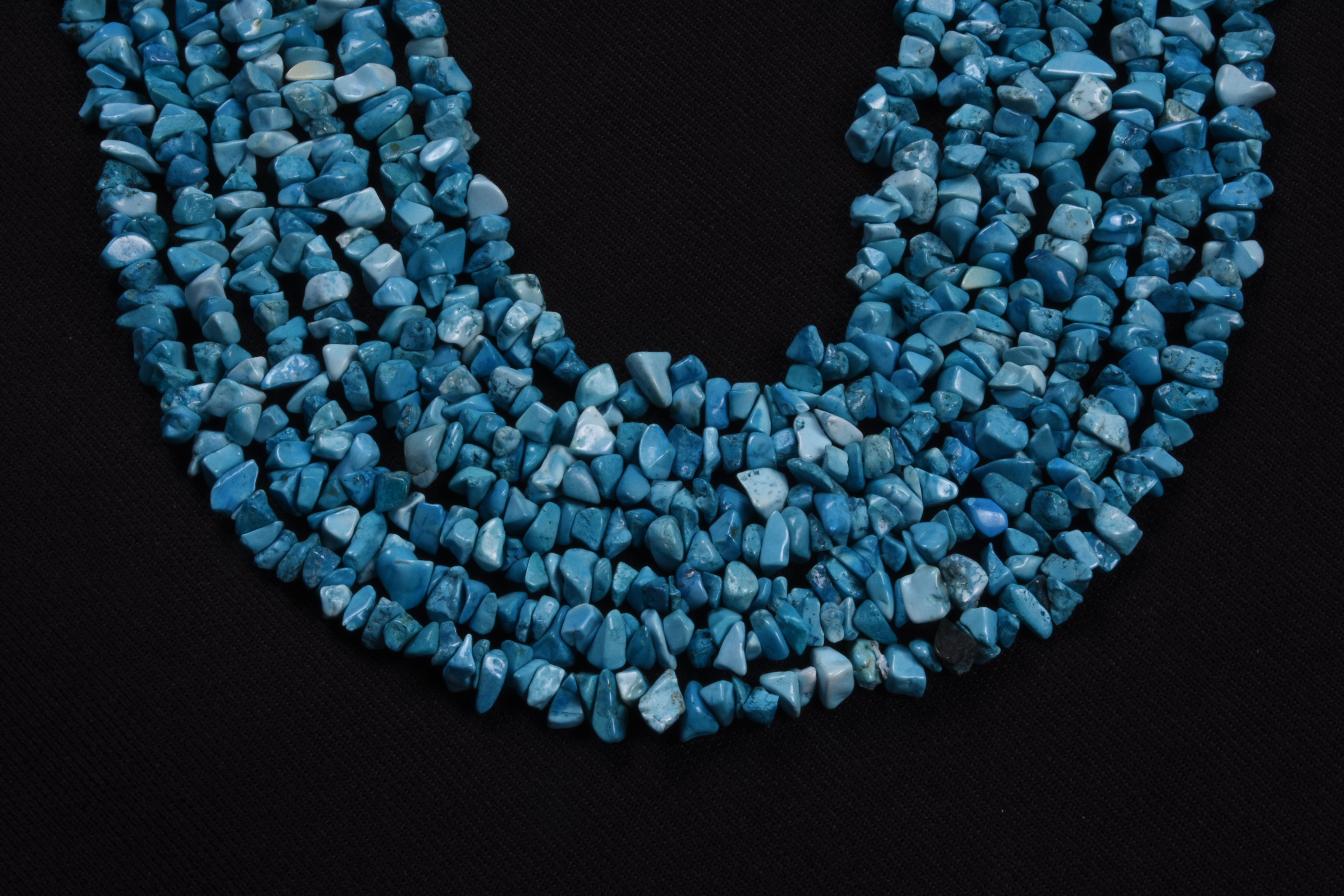 Natural Turquoise Chips Beads