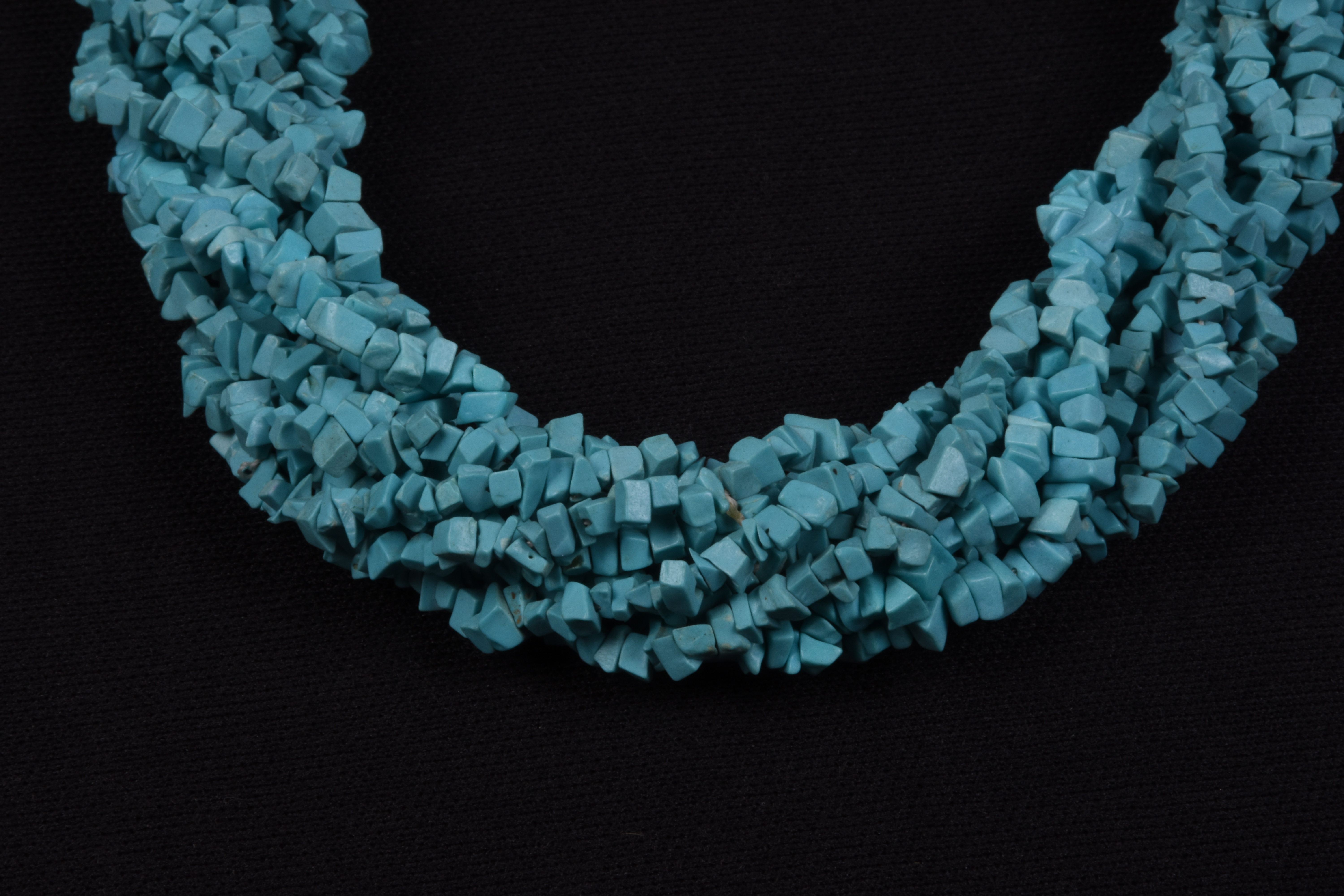 Synthetic Turquoise Uncut Beads