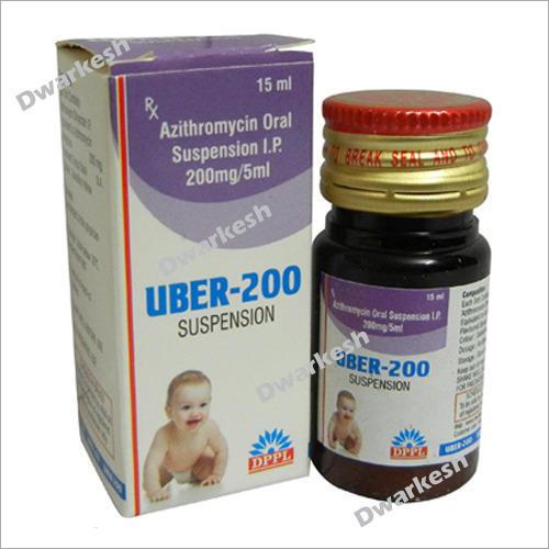 200mg-5ml Azithromycin Oral Suspension IP