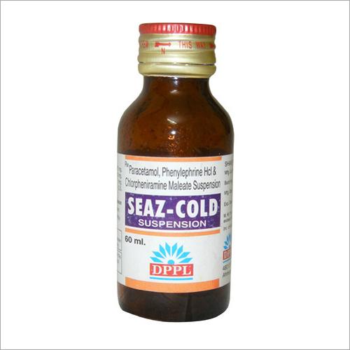 60ml Paracetamol Phenylephrine HCL & Chlorpheniramine Maleate Suspension