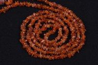 Carnelian Uncut Chips Beads
