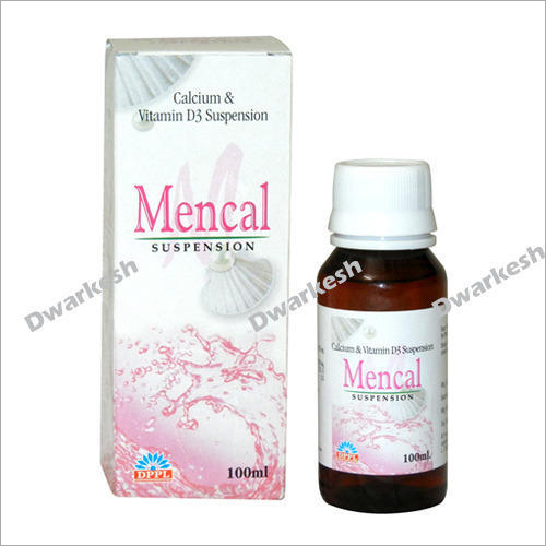 100ml Calcium & Vitamin D3 Suspension
