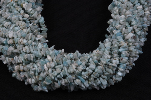 Larimar Uncut Chips Beads