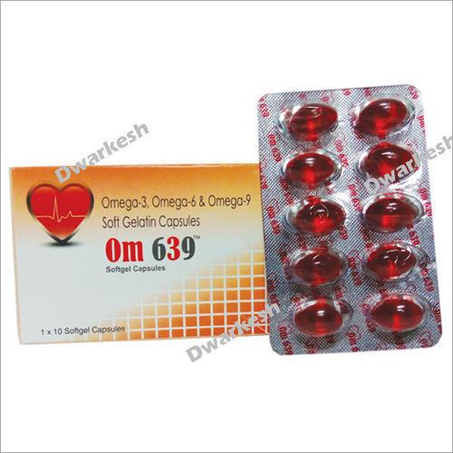 Omega-3 Omega-6 & Omega-9 Soft Gelatin Capsules
