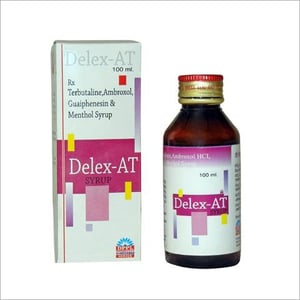 100ml Terbutaline Ambroxol Guaiphenesin And Menthol Syrup