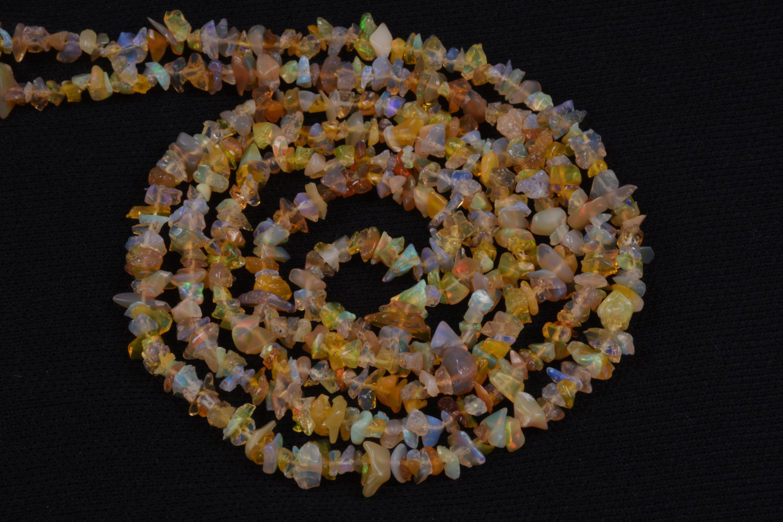 Ethiopian Opal Uncut Chips Beads