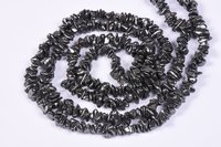 Hematite Uncut Chips Beads
